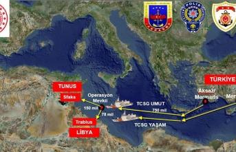 Türkiye'den uluslararası sularda dev operasyon