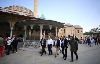 Ürdün Prensleri Konya'yı ziyaret etti