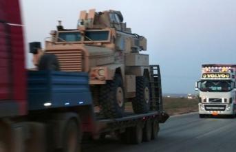 YPG'li teröristlere NATO yoluyla destek TIR'ları