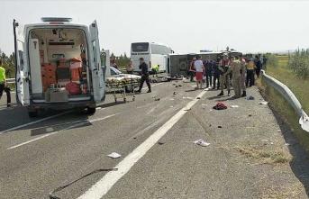 1 Mayıs yolunda feci kaza: Çok sayıda ölü ve yaralı var
