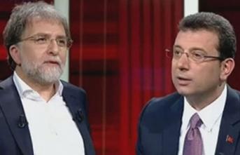 Ahmet Hakan'dan Ekrem İmamoğlu için sert sözler