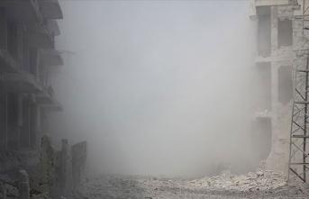 Esed rejimi, İdlib Gerginliği Azaltma Bölgesi'ni vurdu: 12 ölü