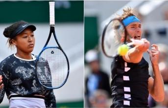 Fransa Açık'ta Osaka ve Zverev 2. turda