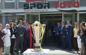 Galatasaray'ın şampiyonluk kupası İstanbul'da