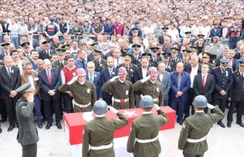 Hatay'da şehit olan askerin cenazesi toprağa verildi