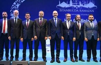 İçişleri Bakanı Soylu, İBB İSTGÜVEN AŞ çalışanları ve aileleriyle iftar yaptı