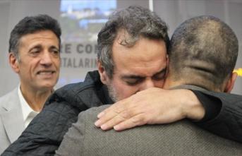 İsrail'de serbest bırakılan iş insanı yurda döndü