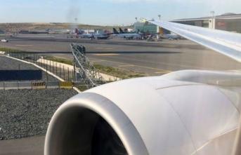 İstanbul Havalimanı'nda talihsiz kaza