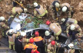 İstinat duvarının çökmesi sonucu göçük altında kalan bir kişi öldü