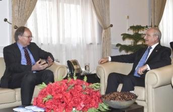 Kılıçdaroğlu, Berger ile bir araya geldi