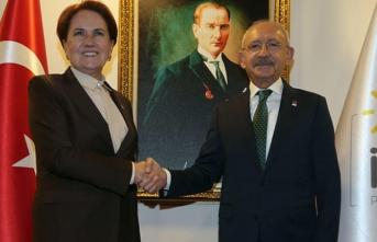 Kılıçdaroğlu, Meral Akşener'i ziyaret etti