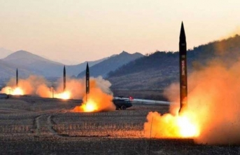 Kuzey Kore'de 2 yıl aradan sonra ilk! Peş peşe ateşlendi