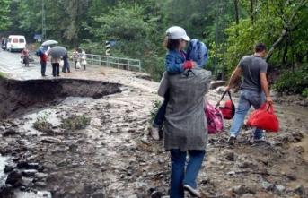 Meteoroloji'den bazı bölgeler için sağanak yağmur uyarısı