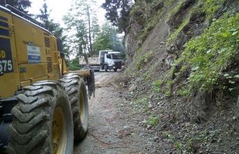 Trabzon Büyükşehir Belediyesi yol seferberliği başlattı