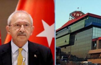 TRT'den Kılıçdaroğlu'nun iddialarına jet yanıt
