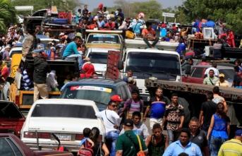Venezuela'dan kaçışlar sürüyor