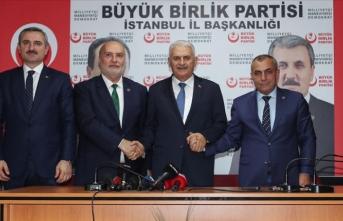 Yıldırım, BBP İstanbul İl Başkanlığını ziyaret etti