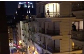 YSK'nın İstanbul kararına tencere-tavalı protesto!