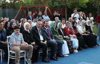 Başkan Erdoğan torununun mezuniyet törenine katıldı