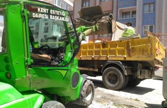 Başkent'te temizlik çalışmaları devam ediyor