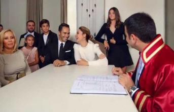 Demet Şener ikinci kez nikah masasına oturdu