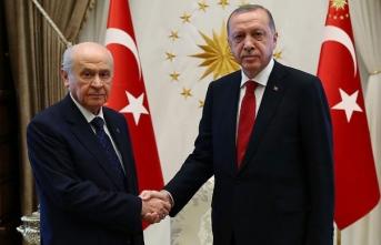 Erdoğan ile Bahçeli arasında kritik zirve!