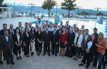 Fahrettin Altun Cumhurbaşkanlığı muhabirleriyle buluştu