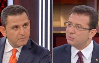 Fatih Portakal'dan canlı yayında İmamoğlu'na tepki!