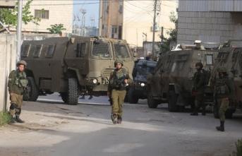 İsrail güçleri Batı Şeria'da 1 Filistinliyi yaraladı