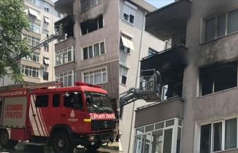 İstanbul'da yangın: 2 ölü, 1 yaralı