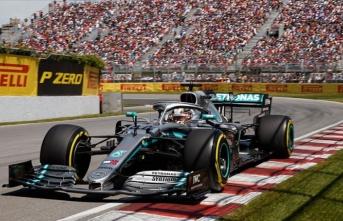 Kanada'daki tartışmalı yarışı Hamilton kazandı