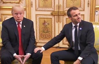 Macron'dan Trump'a Avrupa eleştirisi: Duruşunu netleştir