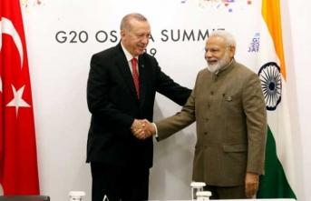 Modi'den Türkiye  ve Erdoğan açıklaması
