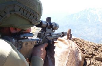Hakkari'de PKK'ya ağır darbe! Çok sayıda terörist öldürüldü
