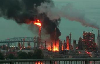 Pensilvanya'da büyük patlama!