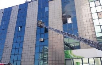 Saadet Partisi İstanbul İl Başkanlığı'nda yangın!