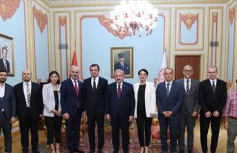 TBMM Başkanı Şentop, Vetevendosje Hareketi Lideri Kurti'yi kabul etti