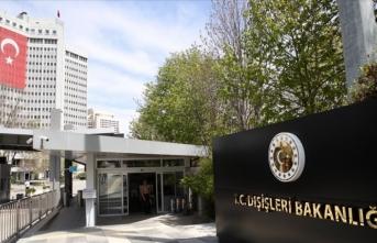 Türkiye'den AB GİK kararına tepki