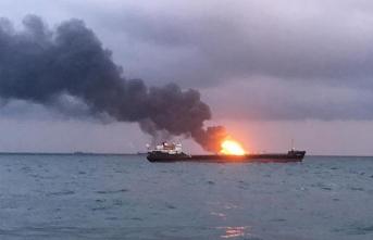 Türkiye'den çıkan gemi, İsrail açıklarında yandı!