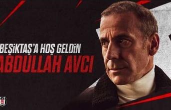 Ve Beşiktaş Abdullah Avcı'yı resmen duyurdu!