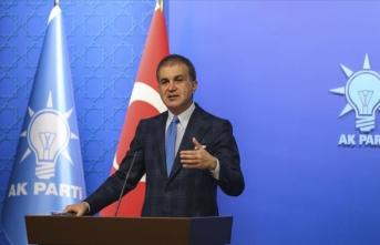 AK Parti Sözcüsü Çelik: Ancak KKTC'nin hakları korunursa bu kriz sona ermiş olur