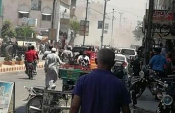 El-Bab'ta eş zamanlı patlamalar! Ölü ve çok sayıda yaralı var