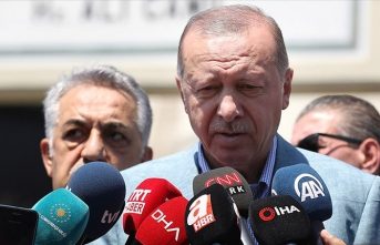 Erdoğan'dan yeni parti sorusuna cevap