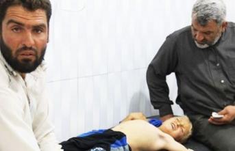 Esed rejimi bir kez daha kadın ve çocukları öldürdü