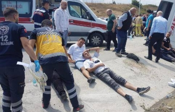 İstanbul'da kaza: 20'den fazla yaralı var