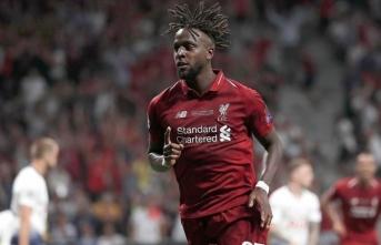 Liverpool'da Origi'nin sözleşmesi uzatıldı