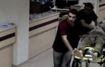 Şehit Ömer Halisdemir'in vurduğu hainin son anları güvenlik kamerasında