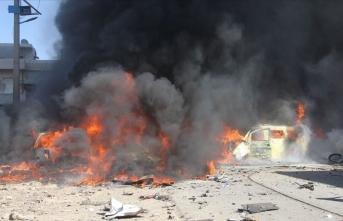Suriye'de patlama! Ölüler var