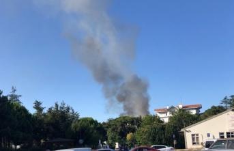 Üsküdar'da patlama ve yangın!