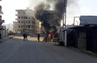 Afrin'de saldırı! Ölü ve yaralılar var